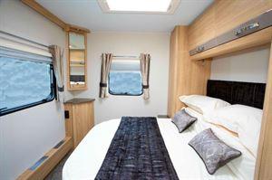 Elddis Crusader Zephyr bedroom