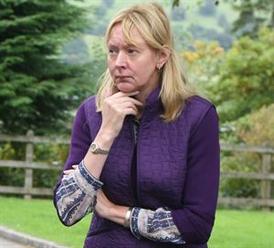 Barbara Allen, director of Park Foot Caravan and Camping Park
