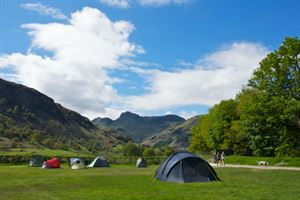 Lake district camping - Courtesy Camping & Caravan Club