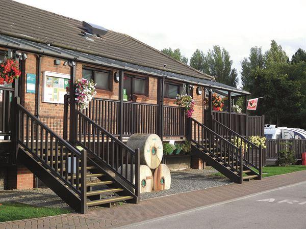 The York Rowntree Park Caravan and Motorhome Club site