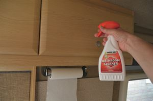 Regular maintenance of the interior of your motorhome is essential