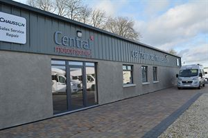 Central Motorhome's new premises