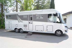 Frankia's new I 890 GD A-class motorhome on the twin-rear axle chassis