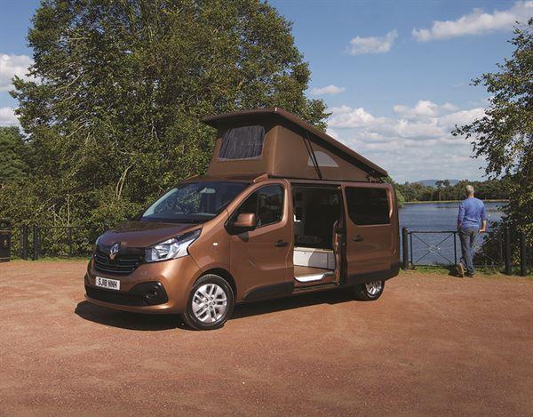 campervan review the wee camper co renault trafic. Black Bedroom Furniture Sets. Home Design Ideas