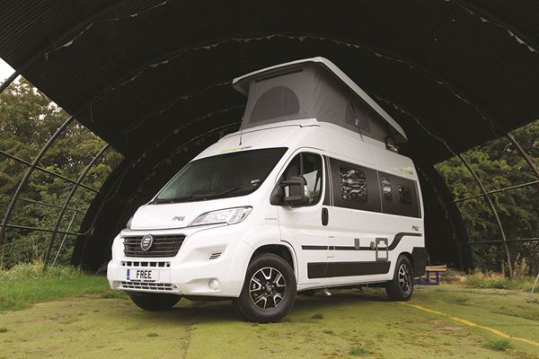 HymerCar Free 540 campervan