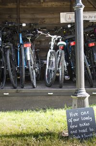 Bike hire available