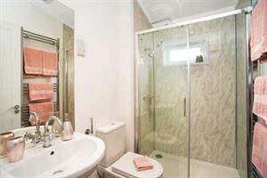 The Tingdene Cosgrove shower room