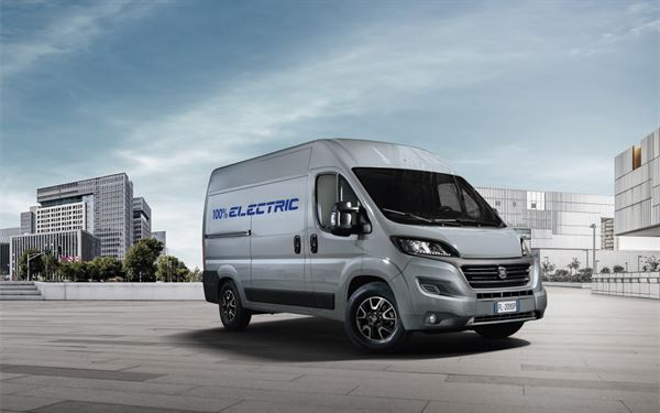 Fiat's Ducato Electric will be released in 2020 - picture courtesy of Fiat