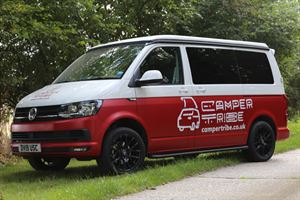 Camper Tribe offers a range of VW rising roof four-berth campervans for hire
