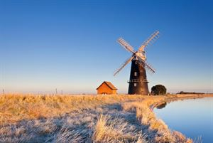 Halvergate Marshes - Photo courtesy of Alamy
