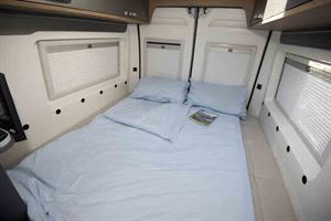 The rear bed is easy to set up © Warners Group Publications, 2019
