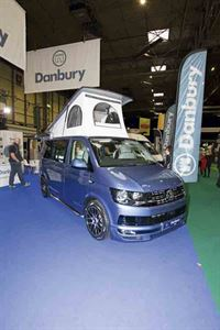 This is a distinctive-looking campervan © Warners Group Publications, 2019