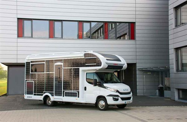 The all-electric motorhome is a concept
