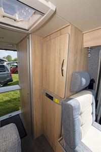 Storage in the Devon Colorado campervan