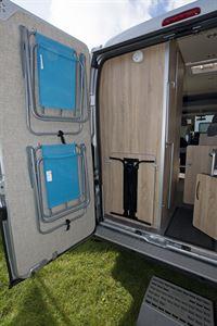 With rear doors open