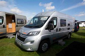 The Devon Colorado, pictured at the National Motorhome and Campervan Show © Warners Group Publications, 2019
