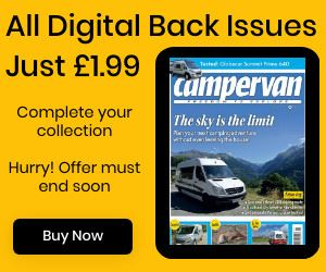 All digital back issues of Campervan magazine are priced at just £1.99 until July 5