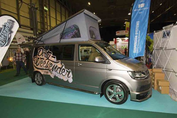 The Dirty Weekend VW T6 LWB is a very bespoke camper © Warners Group Publications, 2019