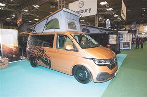 The Dirty Weekender campervan