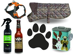 Dog products for caravanners