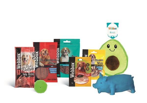 We're offering three lucky readers the chance to win a Webbox hamper