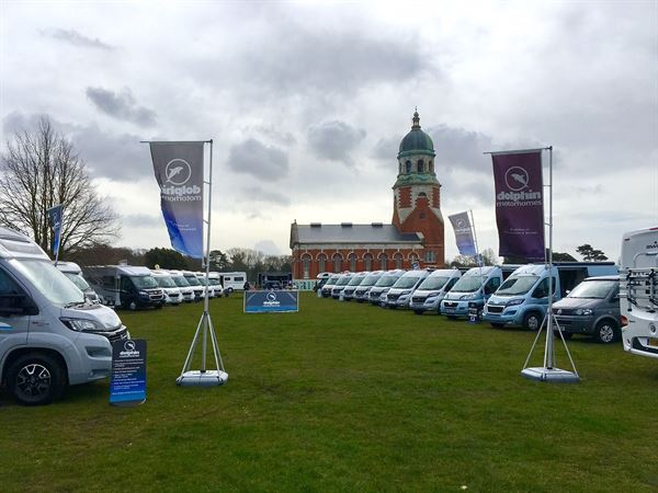 Dolphins Motorhomes is hosting its three-day spring event at Royal Victoria Country Park, Southampton