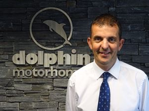 Chris Cash, Dolphin Motorhome's new aftersales manage