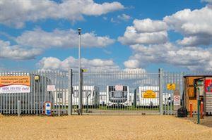 Caravan storage site