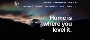 E&P Hydraulics have a new website for UK caravanners and motorhomers looking for levelling systems