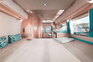 Best Interior Design: Eriba Touring Troll Ocean Drive