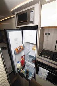 The 141-litre fridge also has a bottle drawer © Warners Group Publications, 2019