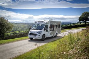 The Elddis Encore 250 motorhome