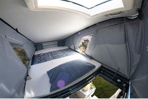 Elddis Autoquest CV80 roof bed - image courtesy of Erwin Hymer Group