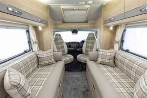 The lounge and cab - with heated cab seats as standard
