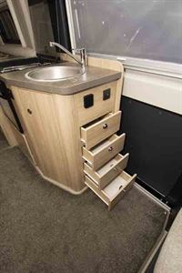 Plenty of drawers by the sink © Warners Group Publications, 2019