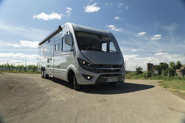 The Bürstner Elegance will be based on the Mercedes Sprinter for the first time