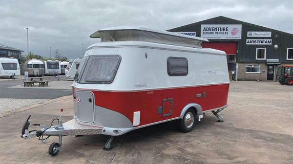 The Eriba Touring Troll 530 Rockabilly caravan