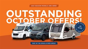 Don't miss Erwin Hymer Group's Outstanding October Offers