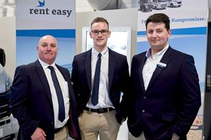 Some of the team at the Erwin Hymer Centre