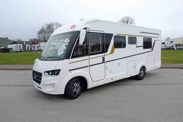 The Eura Mobil Integra Line - picture courtesy of Geoff Cox Leisure