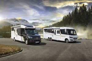 The Eura Mobil motorhome range for 2021 includes the Contura, on the Mercedes Sprinter