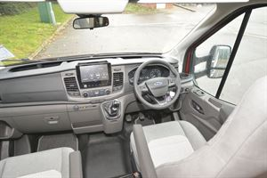 The cab in the Auto-Trail F-Line F74 motorhome