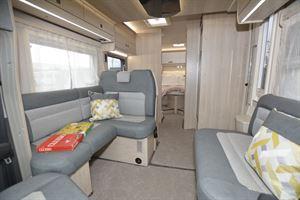 Inside the Auto-Trail F-Line F74 motorhome