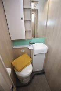 The washroom in the Auto-Trail F-Line F74 motorhome