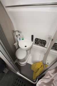 The washroom in the Auto-Sleepers Fairford Plus campervan