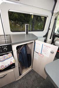 Auto-Sleeper Fairford Plus - useful cupboard storage