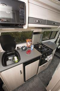 Auto-Sleeper Fairford Plus - the kitchen