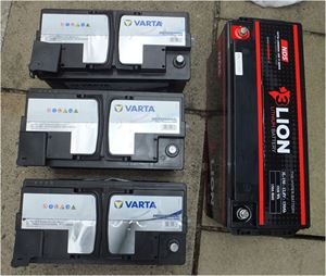 Motorhome batteries