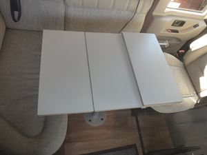 A DIY extended table