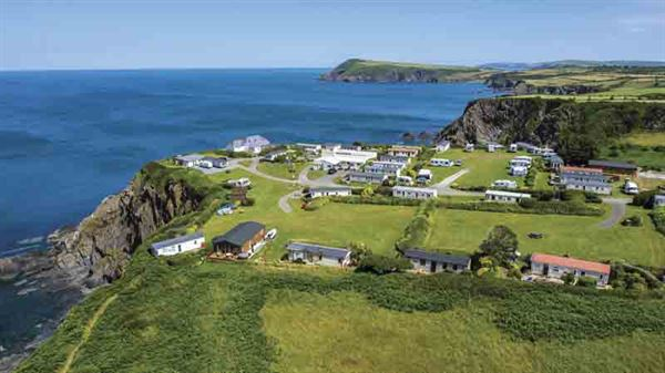 Fishguard Bay Resort in Pembrokeshire boasts a stunning location. Picture courtesy of Fishguard Bay Resort